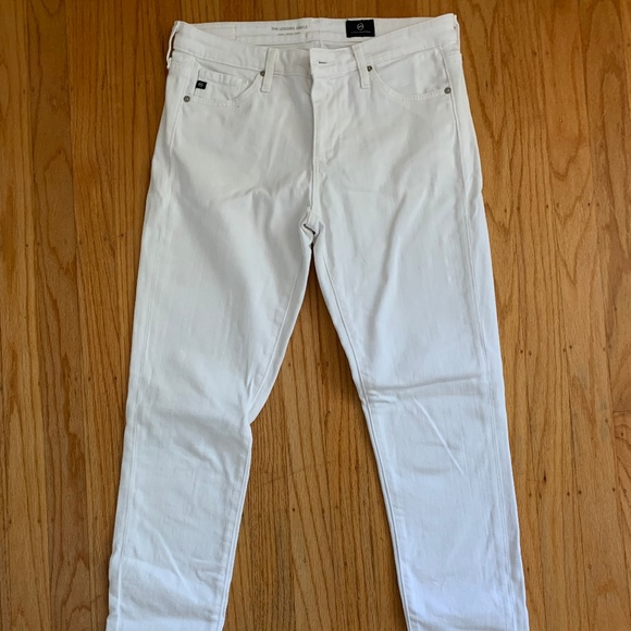 Ag Adriano Goldschmied Denim - EEUC AG White Jeans, size 26